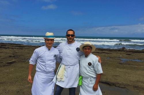 chefs del restaurante boca valdivia